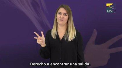 La CNSE denuncia que la falta de accesibilidad aísla e incomunica a las mujeres sordas víctimas de violencia machista