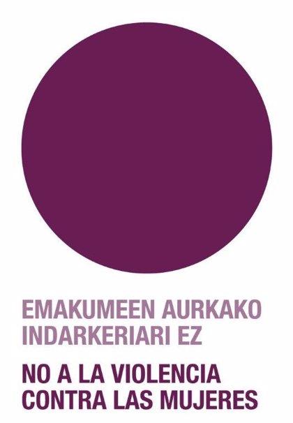 El Parlamento Vasco se iluminará de morado este miércoles para expresar su rechazo a la violencia machista