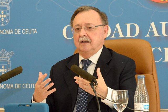 El presidente del Gobierno de Ceuta, Juan Vivas