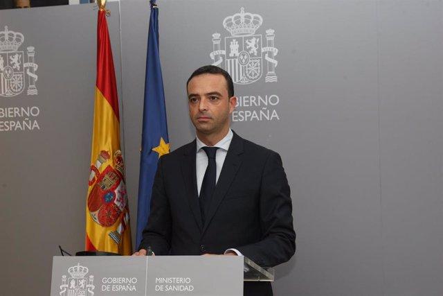 """El secretario general de Salud Digital, Información e Innovación del Ministerio de Sanidad, Alfredo González, ha inaugurado esta tarde el """"III Foro de Comunicación Salud Digital"""""""