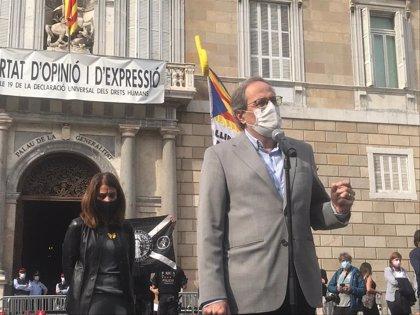 El TC mantiene la inhabilitación especial a Torra con el voto discrepante del progresista Xiol