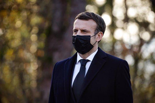 El presidente francés, Emmanuel Macron.