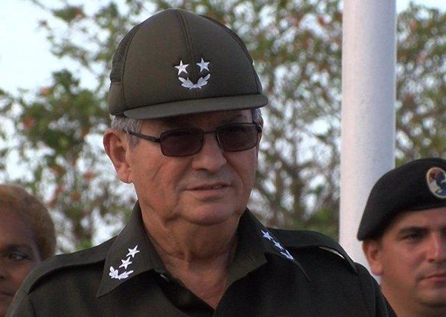 El vicealmirante Julio César Gandarilla Bermejo, ministro del Interior de Cuba, fallecido el 24 de noviembre a causa de una larga enfermedad