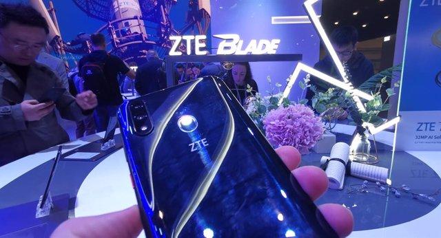 ZTE Blade V10, presentado en el MWC 2019