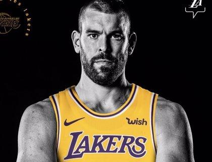 """Marc Gasol: """"He elegido los Lakers porque ganar es adictivo"""""""