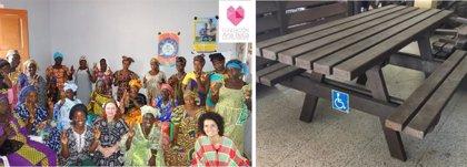Vitaldent convierte 30.000 cepillos de dientes en bancos para una casa de acogida en Guinea-Bissau