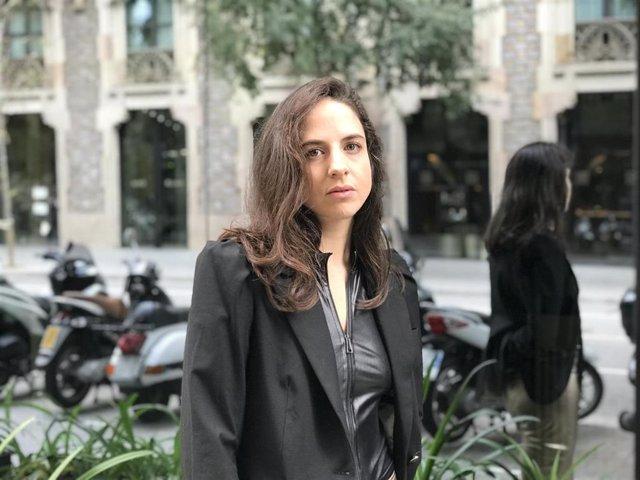 La escritora granadina Cristina Morales
