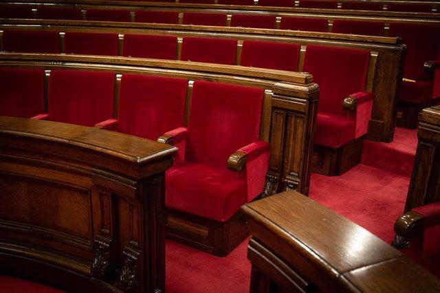 Escons del Parlament (Arxiu)