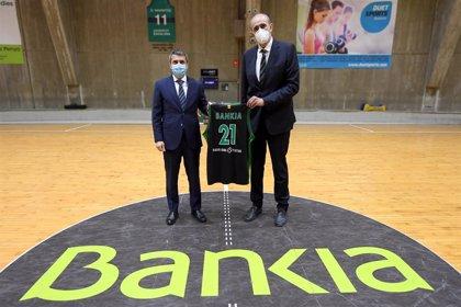 La Fundació Joventut y Bankia renuevan su acuerdo para el patrocinio de la cantera