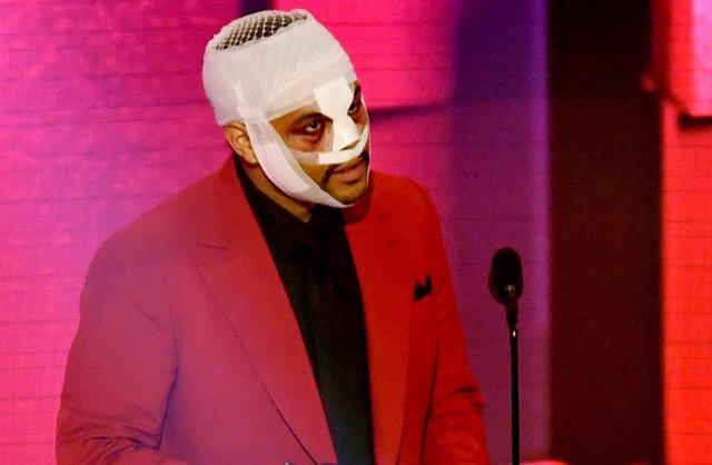The Weeknd en los American Music Awards