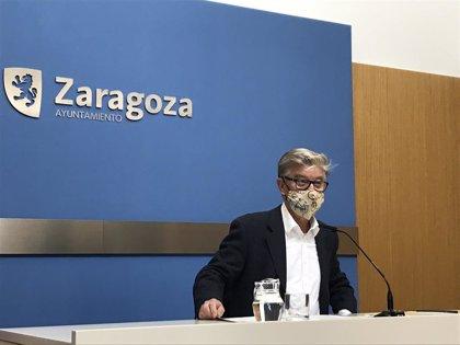 """ZeC tilda de """"gris y anodino"""" el discurso de Azcón y propondrá una renta básica municipal"""
