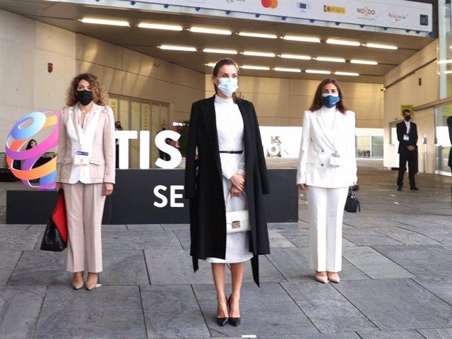La Reina Letizia ha inaugurado el primer congreso de innovación turística en Sevilla