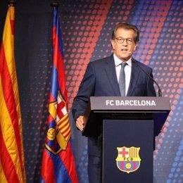 El precandidato a las elecciones del FC Barcelona Toni Freixa