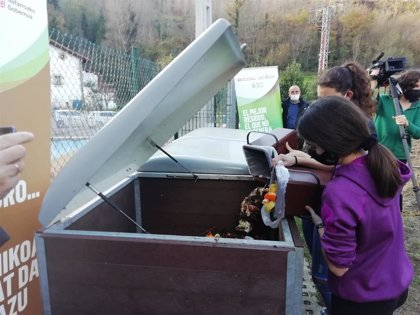 El colegio público de Betelu, ejemplo de éxito en la gestión de residuos