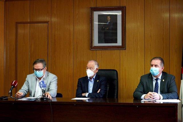 Delgado y Amat, en rueda de prensa