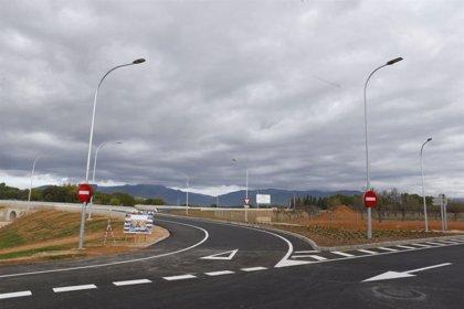 Abre al tráfico el nuevo acceso al polígono de Marratxí desde la autopista de Inca