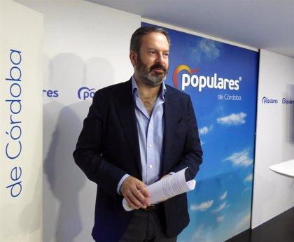 """Molina (PP) espera que """"el movimiento"""" de IU de no apoyar la moción de Baena (Córdoba) con edil """"tránsfuga"""" sea """"verdad"""""""