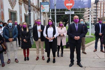 La Diputación de Córdoba muestra su rechazo a la violencia ejercida contra las mujeres