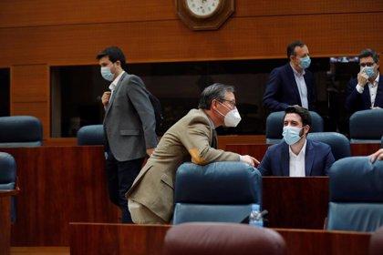 """PP acusa a ERC de """"insultar a los madrileños"""" y Cs recuerda a Sánchez que no van a pagar """"los caprichos de sus socios"""""""