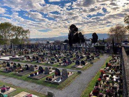 El cementerio de Hondarribia se cerrará por las mañanas durante diez días para adecuar una parcela