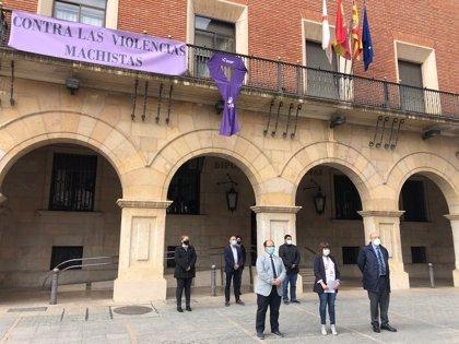 La Diputación de Teruel aprueba una declaración institucional con el lema 'Nuestra provincia sin una menos'