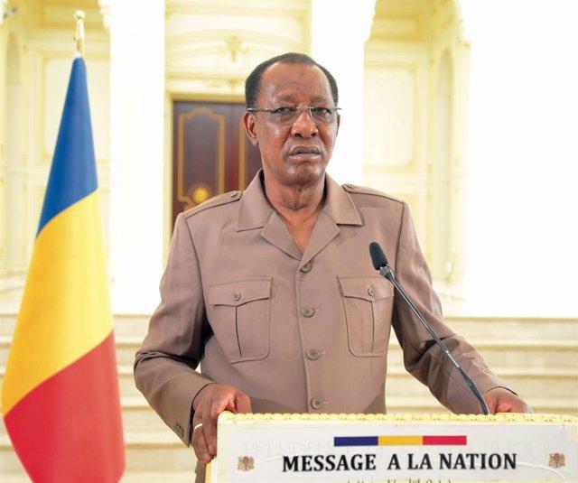 El presidente de Chad, Idriss Déby