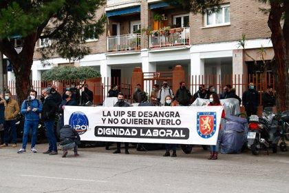 JUPOL alerta de las bajas en las unidades de 'antidisturbios' por la jornada laboral y el material deficiente