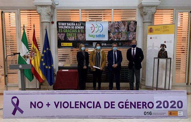 Acto de entrega de premios Menina en Sevilla.