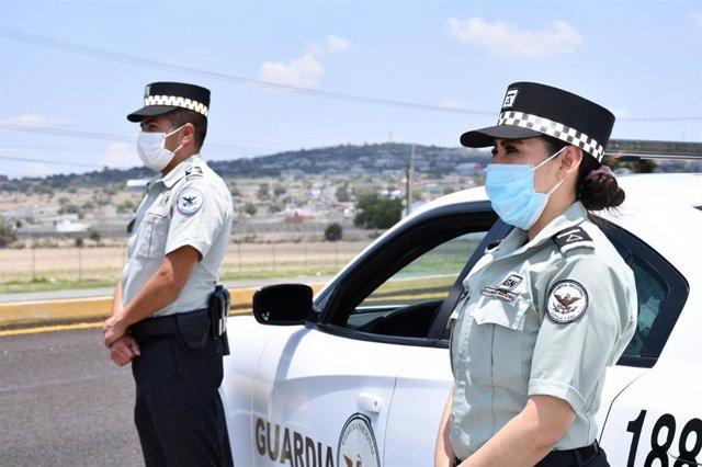 Agentes de la Guardia Nacional de México