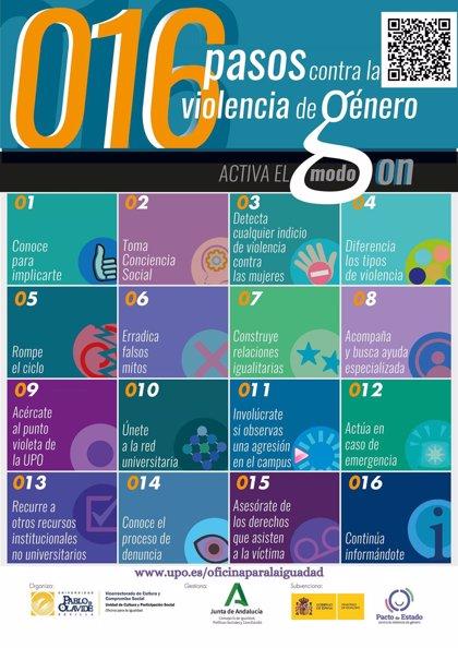 La Universidad Pablo de Olavide publica una guía digital con información para prevenir y actuar ante violencia de género