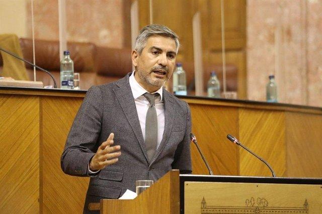 El parlamentario de Cs, Emiliano Pozuelo, en una imagen de archivo.