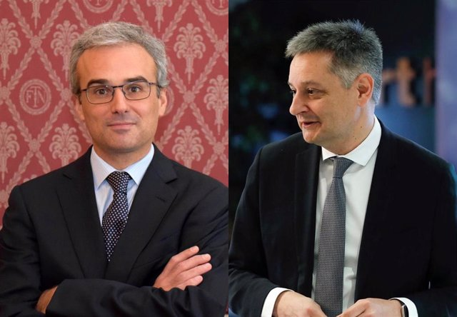 Nuevos consejeros de Morabanc. José Manuel Lara García y Gilbert Saboya Suñé