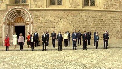 El Gobierno y los diferentes partidos políticos, salvo Vox, rinden homenaje por el 25N