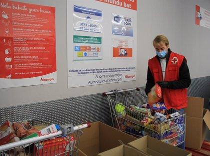 Alcampo.- Cruz Roja repartirá más de 30.000 desayunos y meriendas a infancia en dificultad social en Navarra