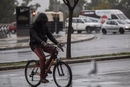 Aviso naranja en Málaga y amarillo en Cádiz, Sevilla y Córdoba por lluvias este jueves