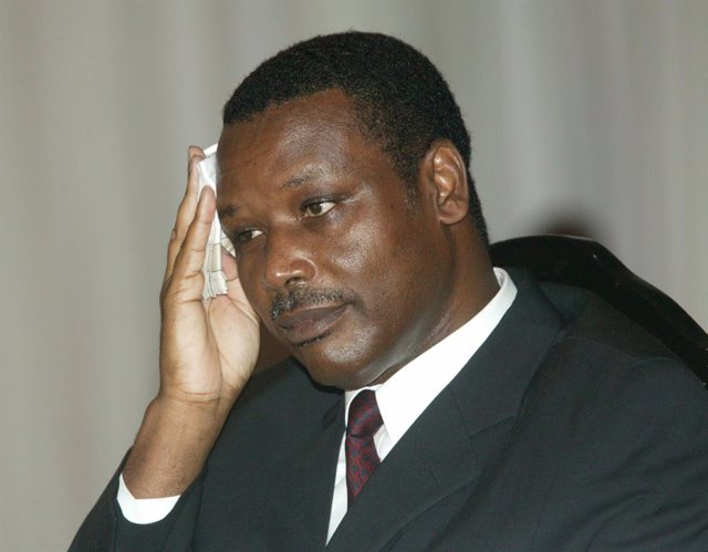 El expresidente de Burundi Pierre Buyoya
