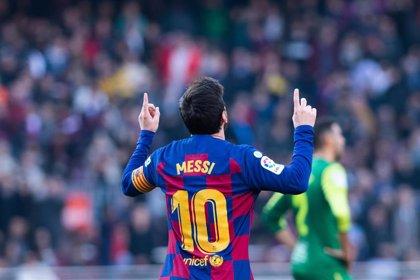 "Messi: ""No se va, Diego es eterno"""