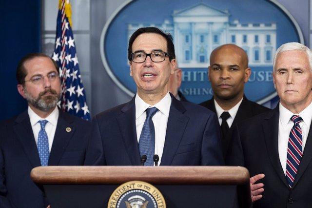 El secretario del Tesoro de Estados Unidos, Steven Mnuchin