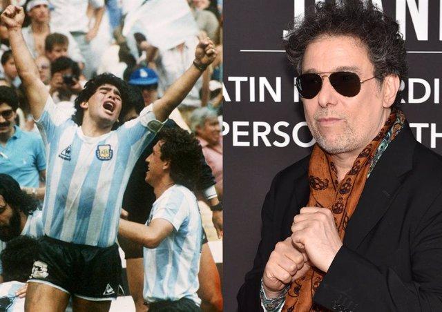 """Andrés Calamaro despide a Maradona: """"Espérame en el cielo, querido hermano"""""""