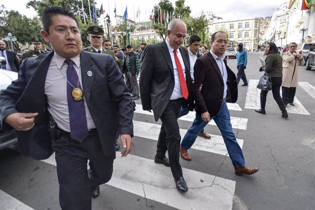 El exministro de Gobierno de Bolivia, Arturo Murillo.