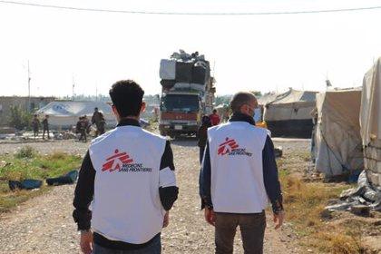 MSF alerta de las graves consecuencias humanitarias del cierre del campo iraquí de desplazados de Laylan