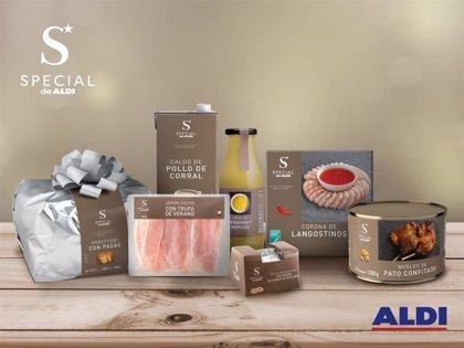 Aldi refuerza para Navidad su línea gourmet Special de Aldi con 140 productos de alta calidad a buen precio