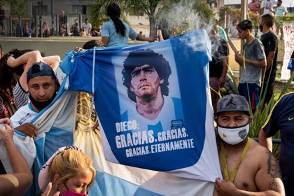 Futbol.- La vetlla de Maradona durarà 48 hores a la Casa Rosada