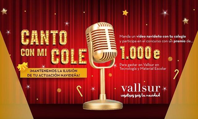 Vallsur organiza un concurso de canciones de Navidad destinado a los colegios de Valladolid