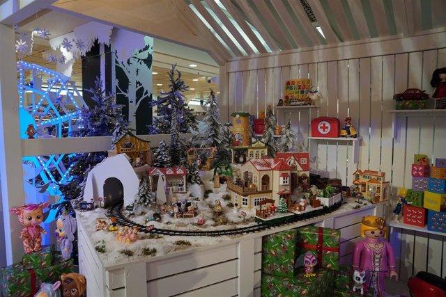 Tienda de Navidad de juguetes