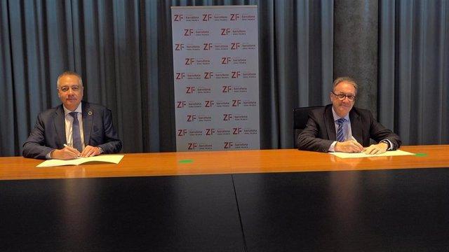 La Zona Franca De Barcelona Y El Programa Incorpora De La Fundación La Caixa Firman Un Acuerdo De Colaboración
