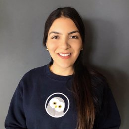Laura Velásquez, presidenta y fundadora de Arkangel AI, algoritmo de Inteligencia Artificial para la detección temprana de enfermedades como la COVID-19 en zonas remotas, que ha sido galardonado con el Premio everis Global 2020