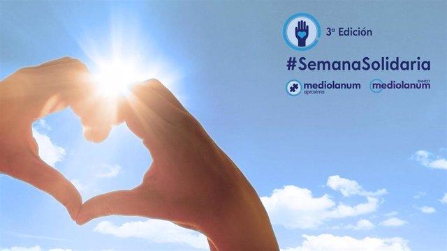 La III Semana Solidaria de Banco Mediolanum (2020) celebra más de 60 iniciativas solidarias online