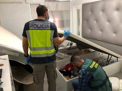 Desarticulada un red de tráfico de drogas al menudeo en Alicante y San Vicente del Raspeig con 43 detenidos