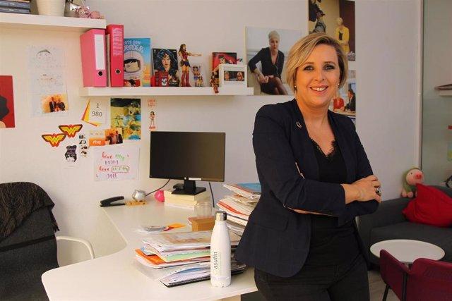 La presidenta de Asufin, Patricia Suárez. Asociación de Usuarios Financieros.